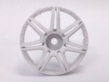 Tetsujin MARGUERITE Car Wheels INSERTS Disk  Adjustable Offset  - Heavy WHITE - (4 pcs ) TT-7565