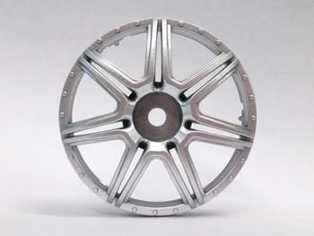 Tetsujin MARGUERITE Car Wheels INSERTS Disk  Adjustable Offset  - Matte SILVER - (4 pcs ) TT-7571