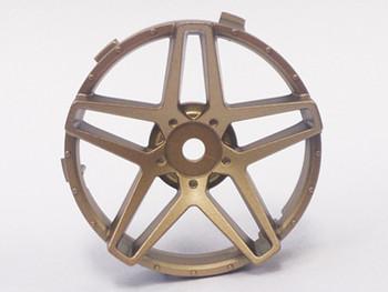 Tetsujin SOUTHERN CROSS RC Car Wheels INSERTS Disk  Adjustable Offset  - GOLD - (4 pcs ) TT-7628