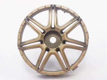 Tetsujin MARGUERITE Car Wheels INSERTS Disk  Adjustable Offset  - GOLD - (4 pcs ) TT-7629