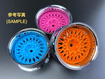 Tetsujin GRANSEEKER Car Wheels INSERTS Disk Adjustable Offset - Energy Mint BLUE - (4 pcs ) TT-7123