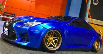 rc drift Lexus w/ southern cross Wheels