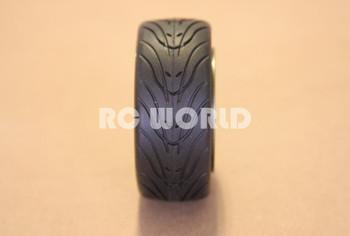 1/10 RC Car Wheels Package  Star Black Chrome (4pcs)
