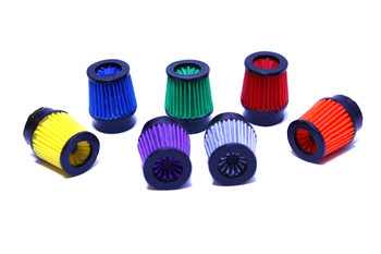 1/10 Scale FILTER Cone Cold Air Intake (1) - BLUE -