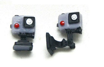 1/10 Scale Accessories GOPRO Action Cameras For Interior/Exterior