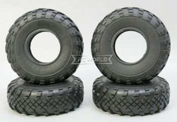 RC 1/10 Rubber TRUCK Tires 1.9 Street Wheels 110mm X 35MM W/ Foam-4PC