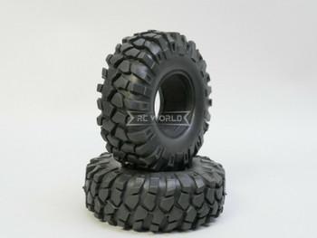 RC 1/10 Rubber TRUCK Tires 1.9 OFF-ROAD 108mm X 40MM W/ Foam-4PC