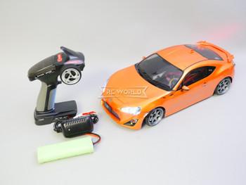 Custom 1/10 RC Car TOYOTA 86 BRZ FRS Awd DRIFT Car RTR W/ LED