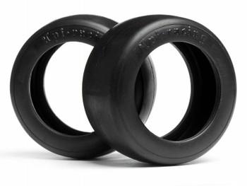 HPI Racing 1/10 Vintage SLICK Racing Tire 26mm Wide (2pcs) #4791
