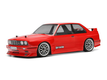 HPI 1/10 RC Car BODY Shell BMW E30 M3 200mm -CLEAR- UNPAINTED #17540