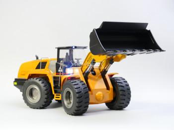 RC 1/14 Construction BULLDOZER Truck W/ Sounds W/ Smoke RTR