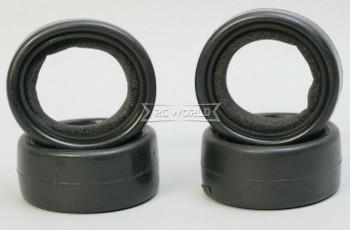 1/10 RC Car SLICKS Racing TIRES Set (4PCS) BLACK 62MM