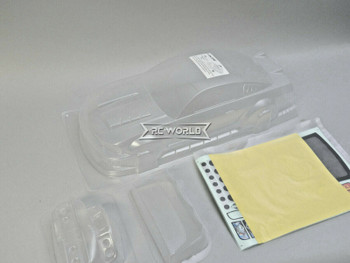 1/10 RC Body Shell FORD MUSTANG GT350 HOONIGAN 200mm - CLEAR -