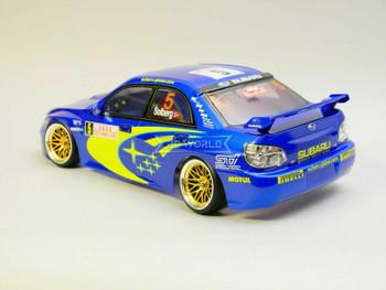 1/10 RC Body Shell SUBARU IMPREZA STI 4 DOOR WRC 200mm - CLEAR -