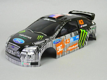 1/10 RC Body Shell FORD FOCUS RS WRC  200mm - CLEAR -