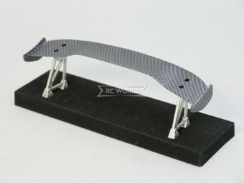 1/10 RC Car WING SPOILER Carbon Fiber 185mm