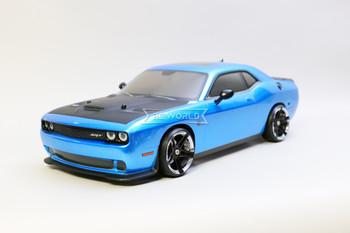Kyosho Fazer RC Car Dodge Challenger SRT Hellcat 4wd w/ Sounds 7.6v -RTR-