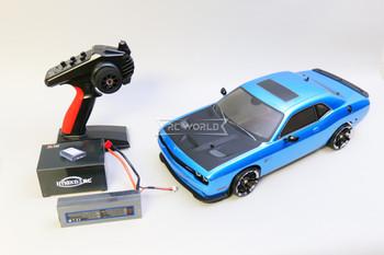 Kyosho Fazer RC Car Dodge Challenger SRT Hellcat  -RTR-