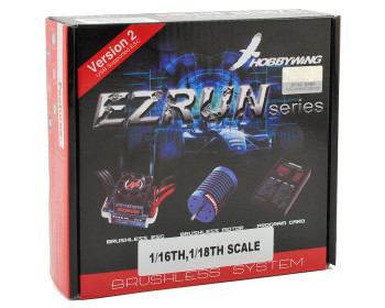 Hobbywing 1/18 EZRun 18A Brushless ESC/Motor Combo (18.0T/5200kV) w/ Program Box