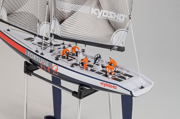 Kyosho RC SAIL BOAT Fortune 612 Ready Set -RTR- 2.4GHZ