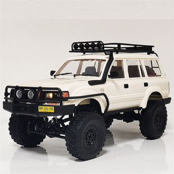 RC 1/16 Truck Body TOYOTA Land Cruiser 80 LX450 Hard Body *KIT* -WHITE-