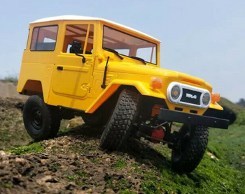 RC 1/16 Truck TOYOTA FJ40 4X4 RC Rock Crawler Metal *KIT* -YELLOW- C-34KM