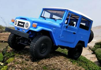 RC 1/16 Truck TOYOTA FJ40 4X4 RC Rock Crawler Metal *KIT* -BLUE- C-34KM