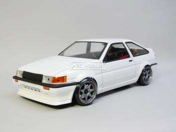1/10 RC Car BODY Shell Toyota TRUENO Levin Body 200mm *FINISHED* White