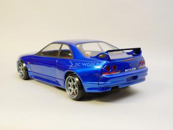 1/10 RC Car BODY Shell NISSAN SKYLINE R32 190mm *FINISHED* Blue