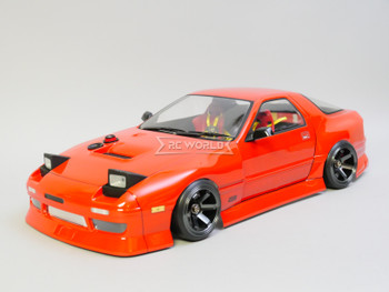 1/10 RC Car BODY Shell MAZDA RX7 Drift *FINISHED* 190mm RED