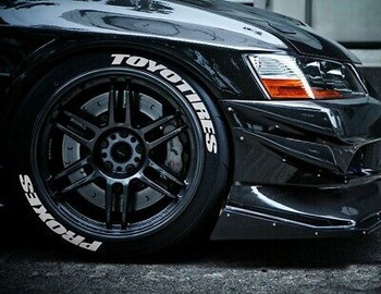 1/10 Scale Tire Decal TOYO TIRES / PROXIES