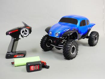 1/10 RC Rock Crawler  4X4 Truck 1.9 *RTR* Blue