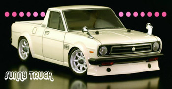 RC 1/12 Body Shell DATSUN 1200 Sunny Pick Up Truck