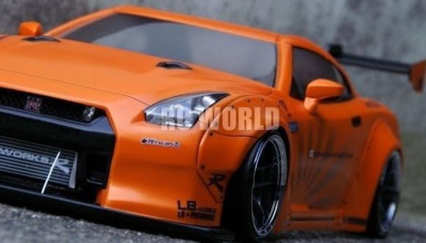 RC 1/10 NISSAN SKYLINE GT-R R35 LB Car Body Shell