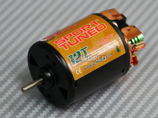 1/10 RC 540 Sport Tuned Motor For RC TRUCK Rock Crawler 12T High Speed Motor