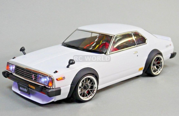 Custom RC 1/10 Drift NISSAN SKYLINE HT 2000 GTR AWD DRIFT Car RTR W/ LED LIGHTS