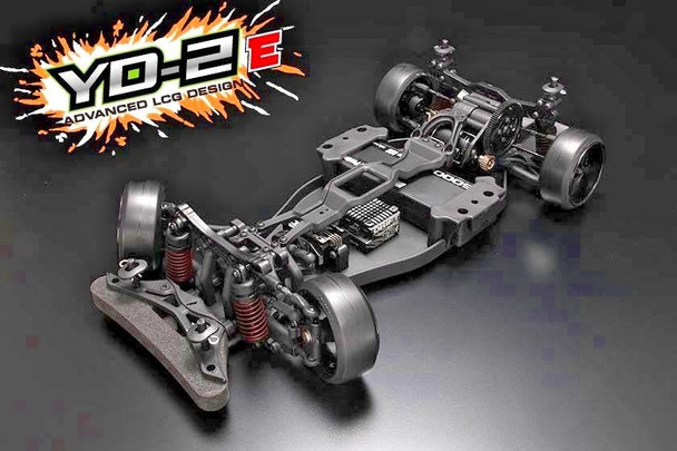 Yokomo 1/10 RC RWD DRIFT CHASSIS YD-2E Rear Wheel Drive Drift -KIT- DP-YD2E