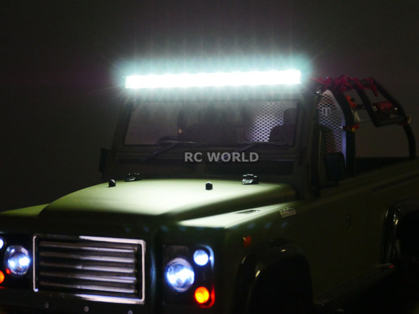 RC Scale Accessories CREE LED LIGHT BAR With Metal Housing STRONGEST + BRIGHTEST