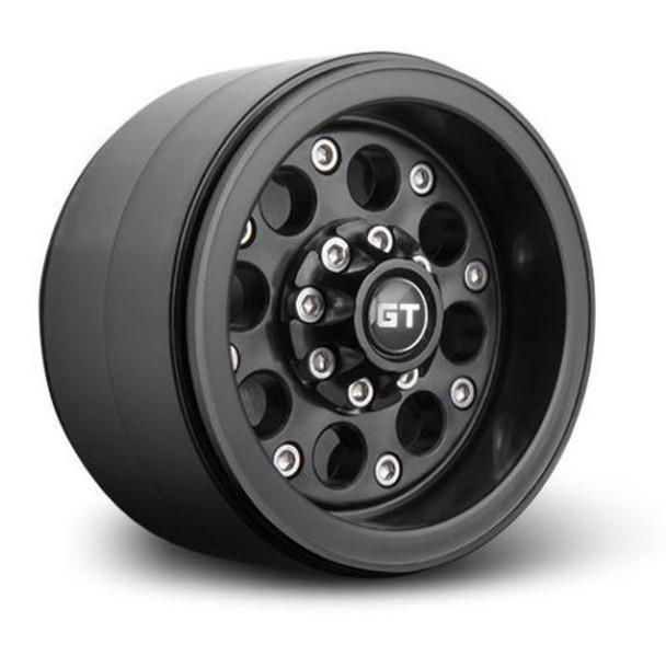 1/10 Gmade  2.2 Beadlock  Wheels GT02 (2 RIMS) Black  #gm70234