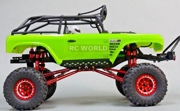 For Axial RC 1/10 Scale Truck Rims Wheels 1.9 BEADLOCK Metal Aluminum Red 2 RIMS