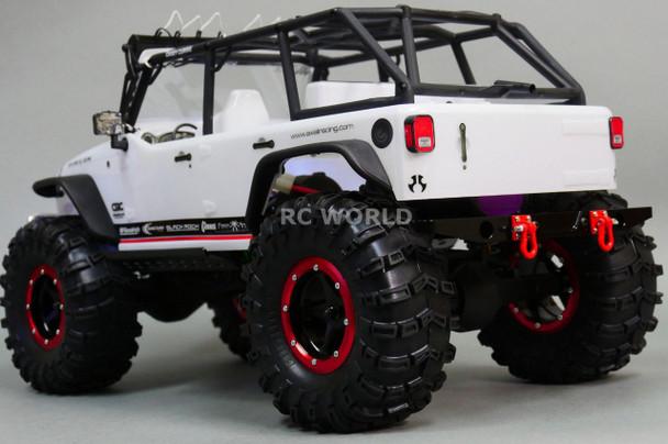 For Axial SCX10 Jeep Honcho RC Truck REAR METAL BUMPER