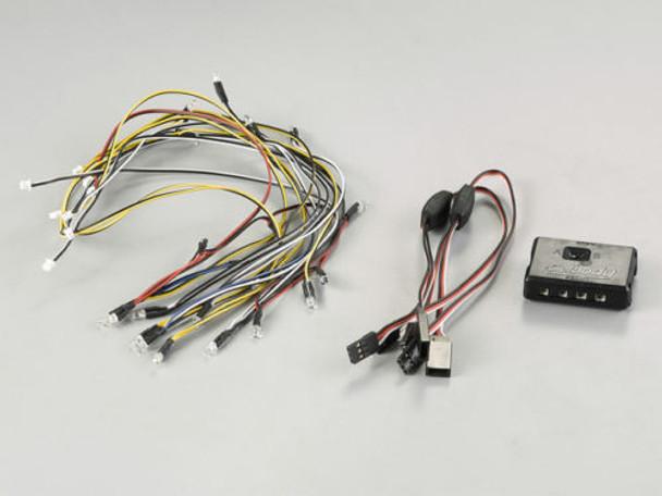 1/10 RC Car LED LIGHT SET w/ Control Box For Skyline R31 Body Killer Body #48686