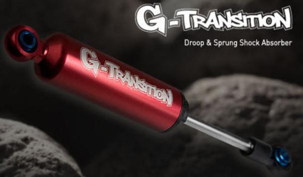 RC 1/10 TRUCK Suspension G-TRANSITION 90MM SHOCK ABSORBER Aluminum RED < 4 SET>
