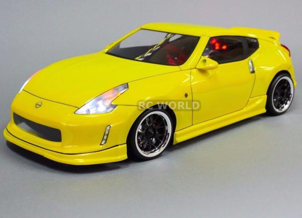 Custom  RC 1/10 Drift NISSAN 370Z W/ LED Lights AWD Belt CAR RTR