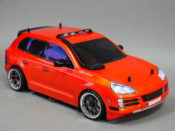 Custom  RC 1/10 Drift PORSCHE CAYENNE SUV AWD Belt CAR RTR