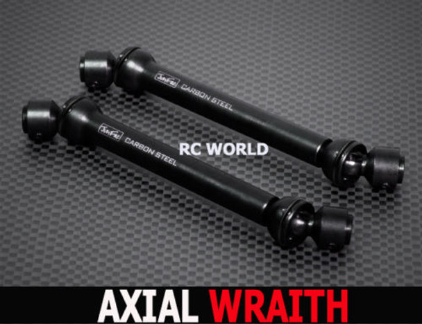 Axial WRAITH Hardened CARBON STEEL DRIVE SHAFTS (2) Rock Crawling Axles
