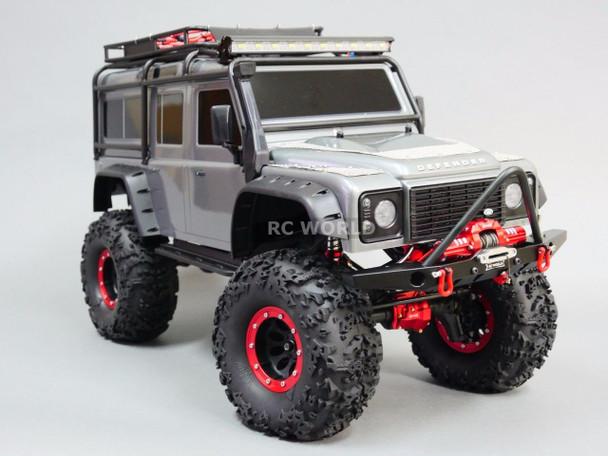 Traxxas TRX-4 METAL BUMPER Bull Nose + 10 KG Dual Motor WINCH