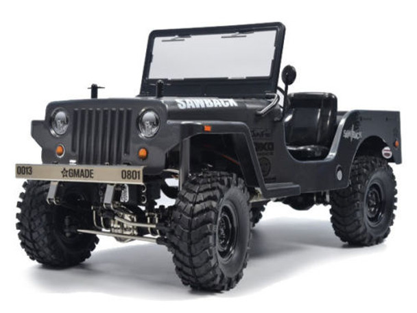 RC Truck Body Shell 1/10 SawBack JEEP WRANGLER WILLYS MILITARY JEEP - NEW