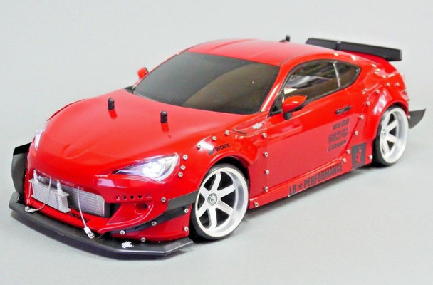 1/10 RC Rocket Bunny WIDE Body TOYOTA 86 FRS Subaru BRZ Drift Body Kit