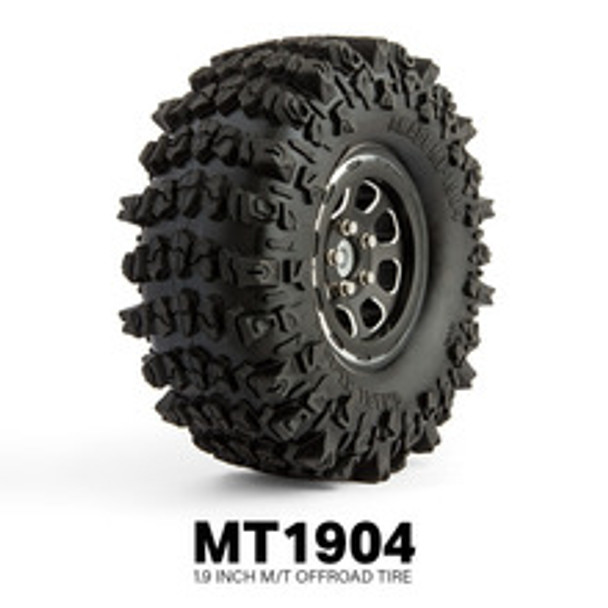 Gmade 1.9 Truck TIRE 121MM MT 1904 Crawler Tires #gm70304